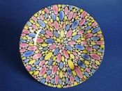 Shelley 'Bubbles' Art Deco Tea Plate c1925
